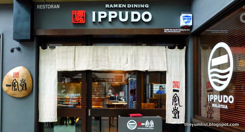 Ippudo, Bangsar Shopping Centre, Japanese restaurant, KL