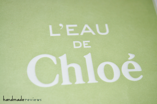 L'Eau de Chloé Review