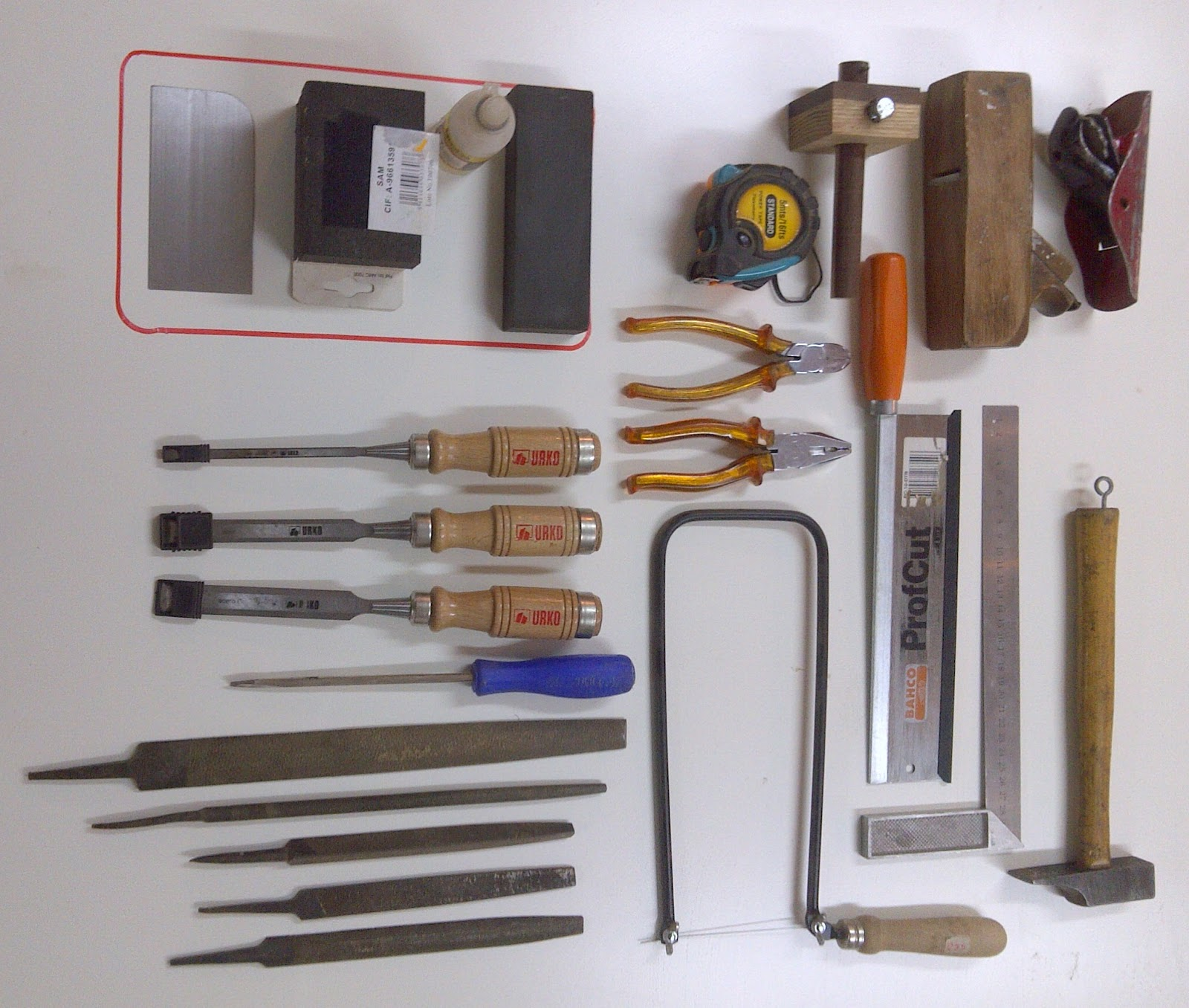 Panel de herramientas herramientas de mano - Herramientas de mano ...