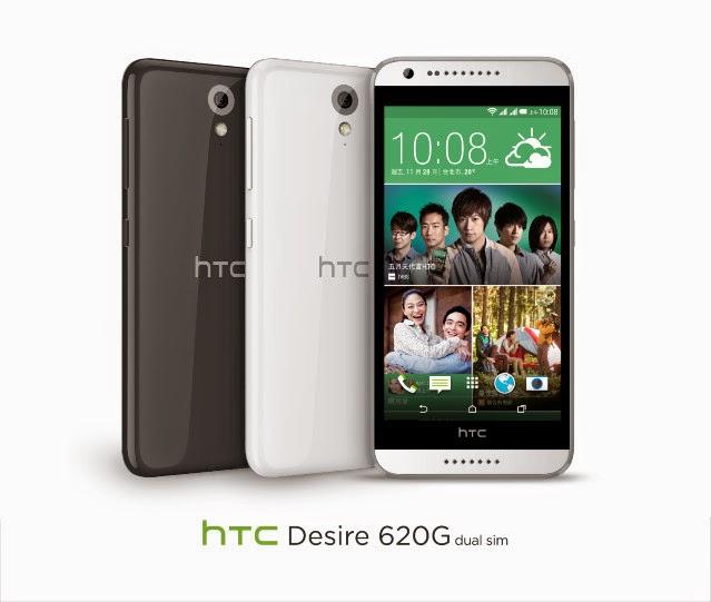 Smartphone Android Terbaru HTC Desire 620 VS HTC Desire 620g