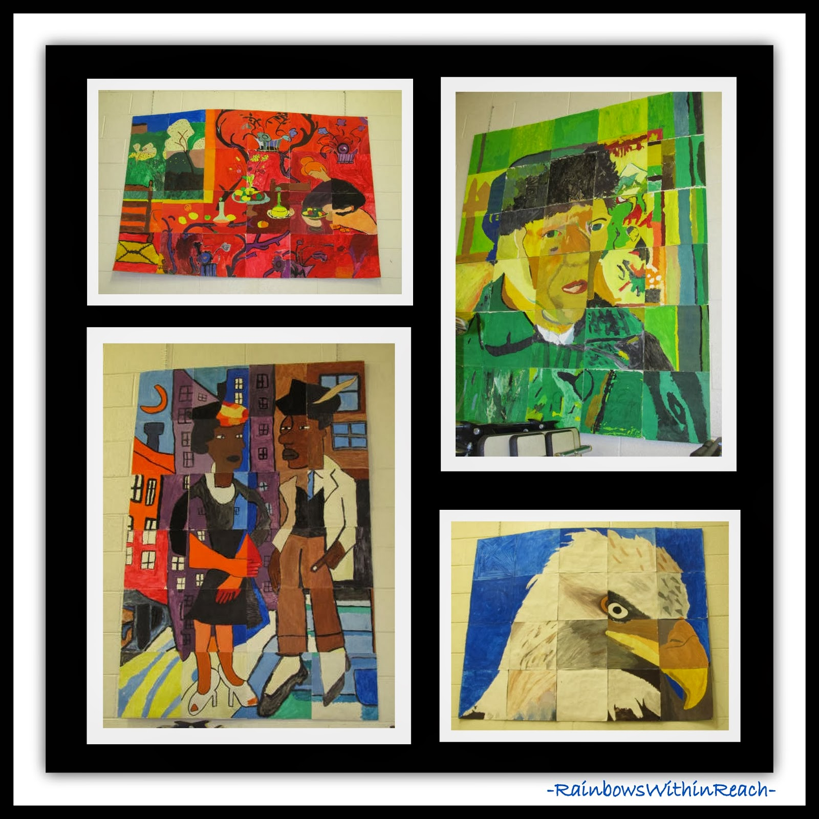 "Art History Masterpiece Collaborative ""Puzzles"" via RainbowsWithinReach"