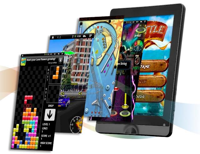 Aplicaciones de un tablet