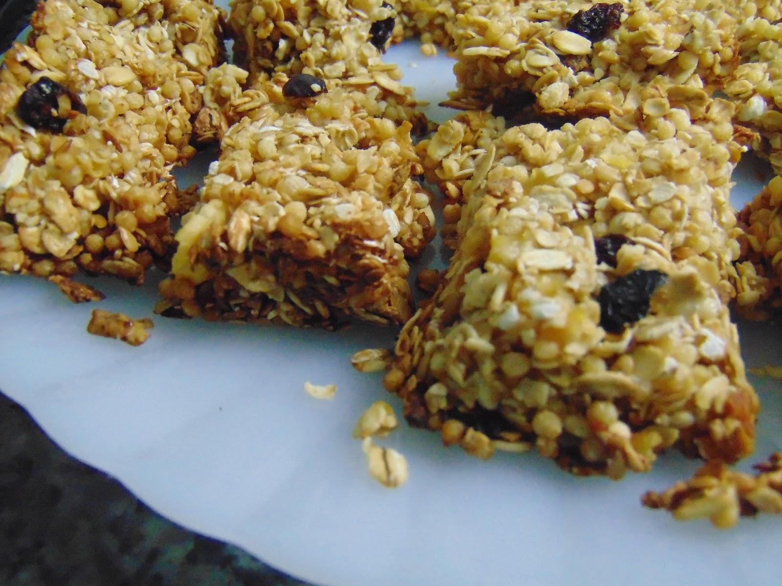 Receita Barra de Cereal Caseira - Ally na Cozinha