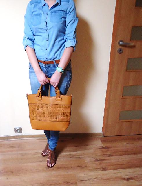 Strój dnia #7- na jeansowo