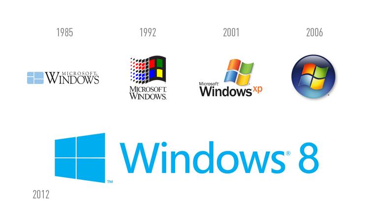 Very Popular Logo: Logo Windows 8 (Part 03)