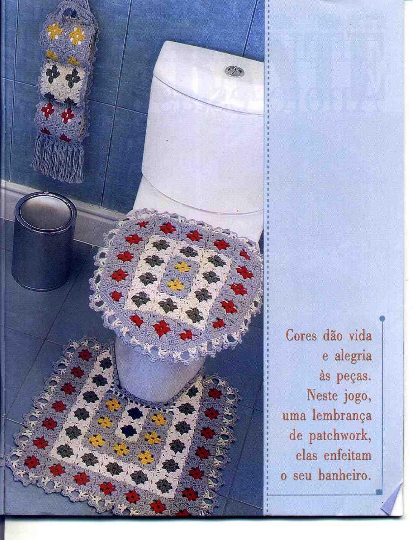 Фото вязанные крючком для ванны