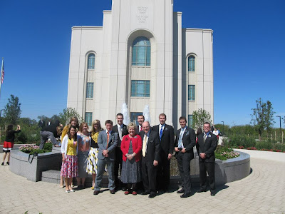 @ the Kansas City Missouri LDS Temple, Aug. 2012