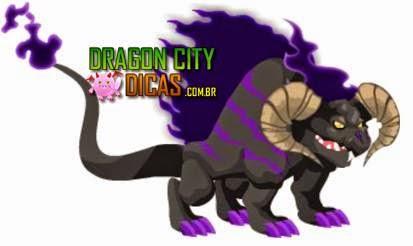 Dragão Fogo Sombrio