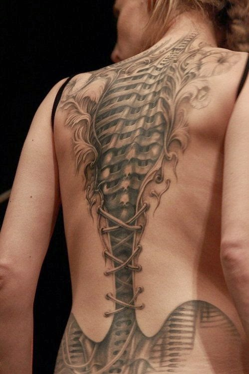 ♥ ♫ ♥ Amazing artwork! Tattoos For Girls On Back  ♥ ♫ ♥