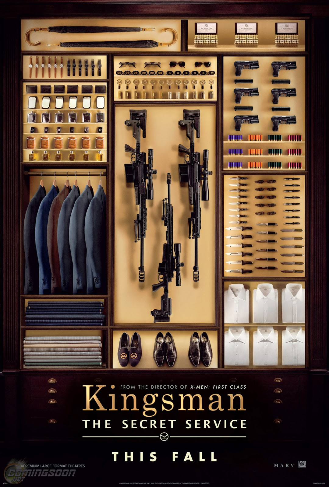 This is mine: Films I\u0026#39;m looking forward to: Kingsman: The Secret Service (Red Band Trailer)