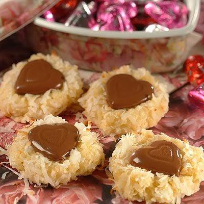 biscotti con cocco e cioccolato per san valentino (clicca e condividi)