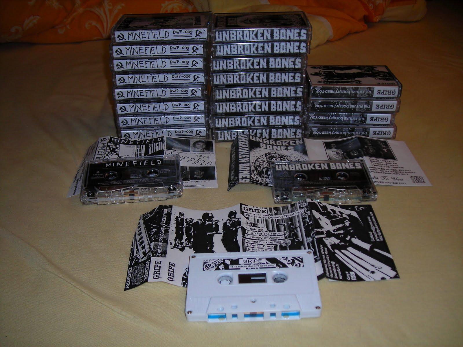 Unbroken Bones - Demo Tape