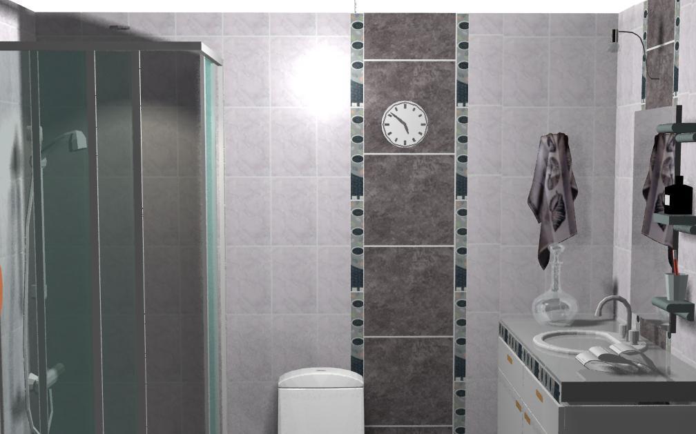 Hugo ceramicas y representaciones sac un ba o rustico for Combinar colores de pisos y paredes