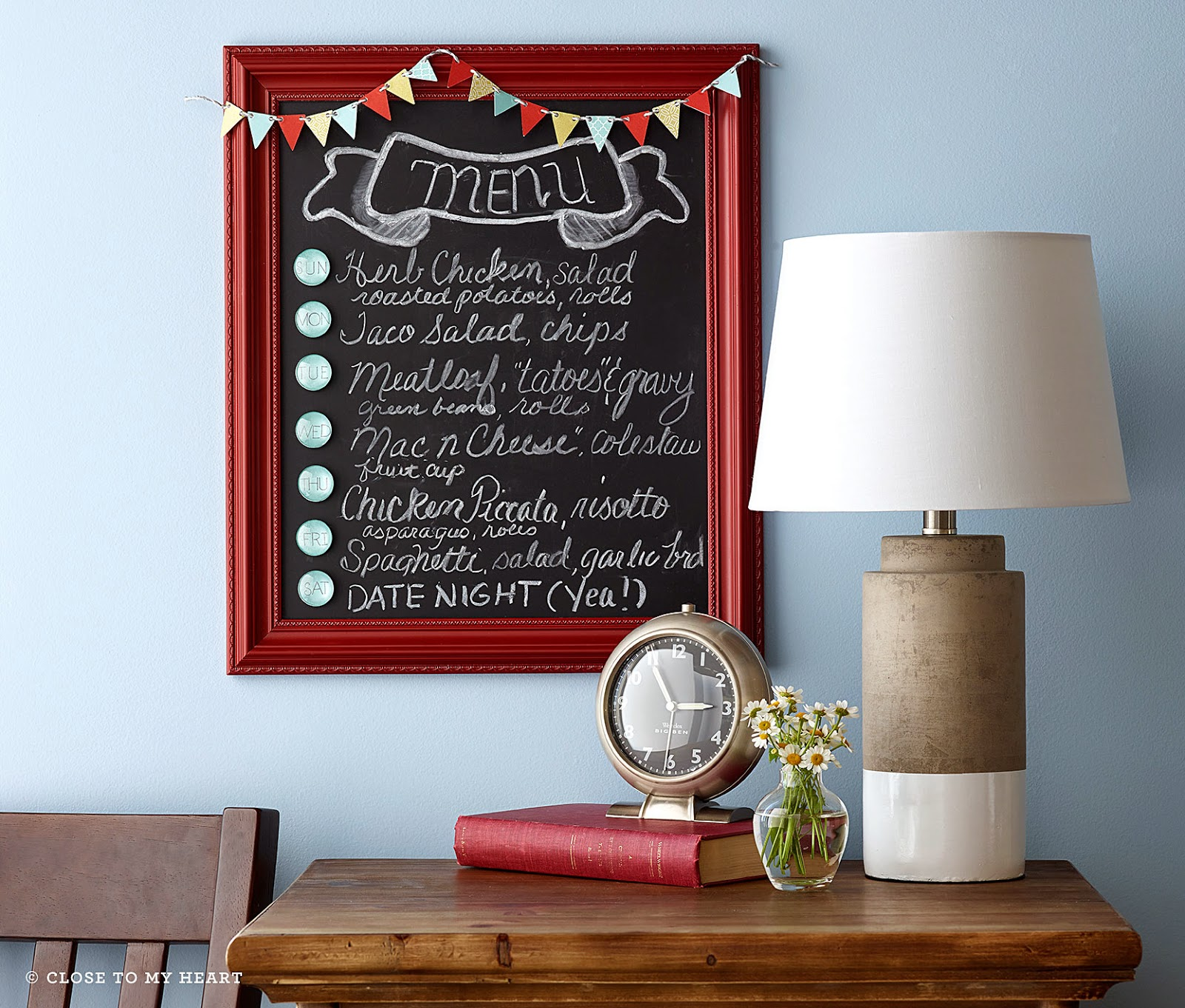CTMH Magnetic and Chalk Board