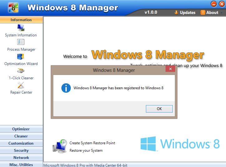 Yamicsoft windows 7 manager v2.1.7 incl keymaker core deepstatush33t