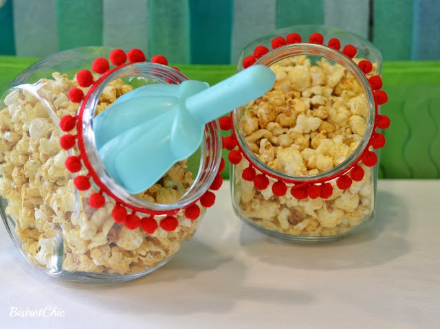 Under the Sea Party popcorns by Bistrotchic