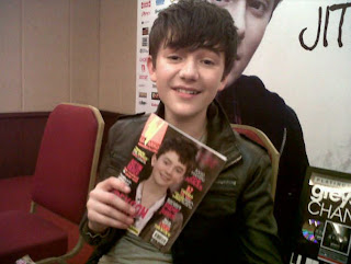 Greyson Chance in Jakarta earlier this year