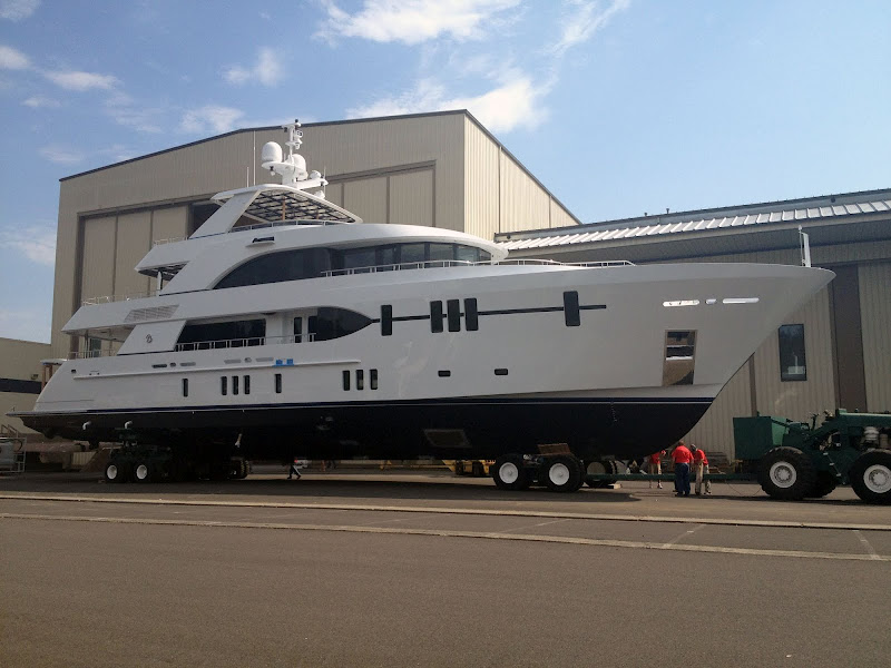 The New Ocean Alexander 120 Launches title=
