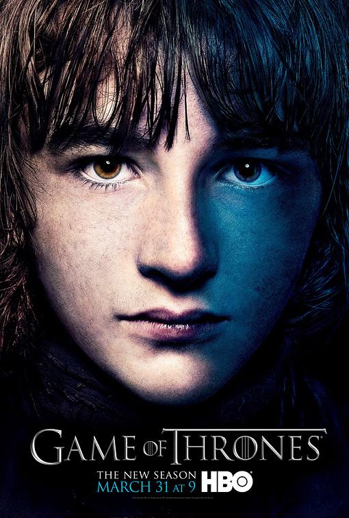 Bran poster 3T - Juego de Tronos en los siete reinos