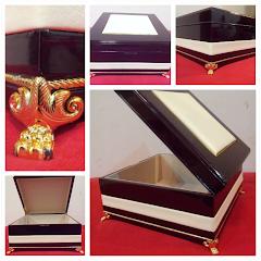 Modern Wooden Box Hantaran