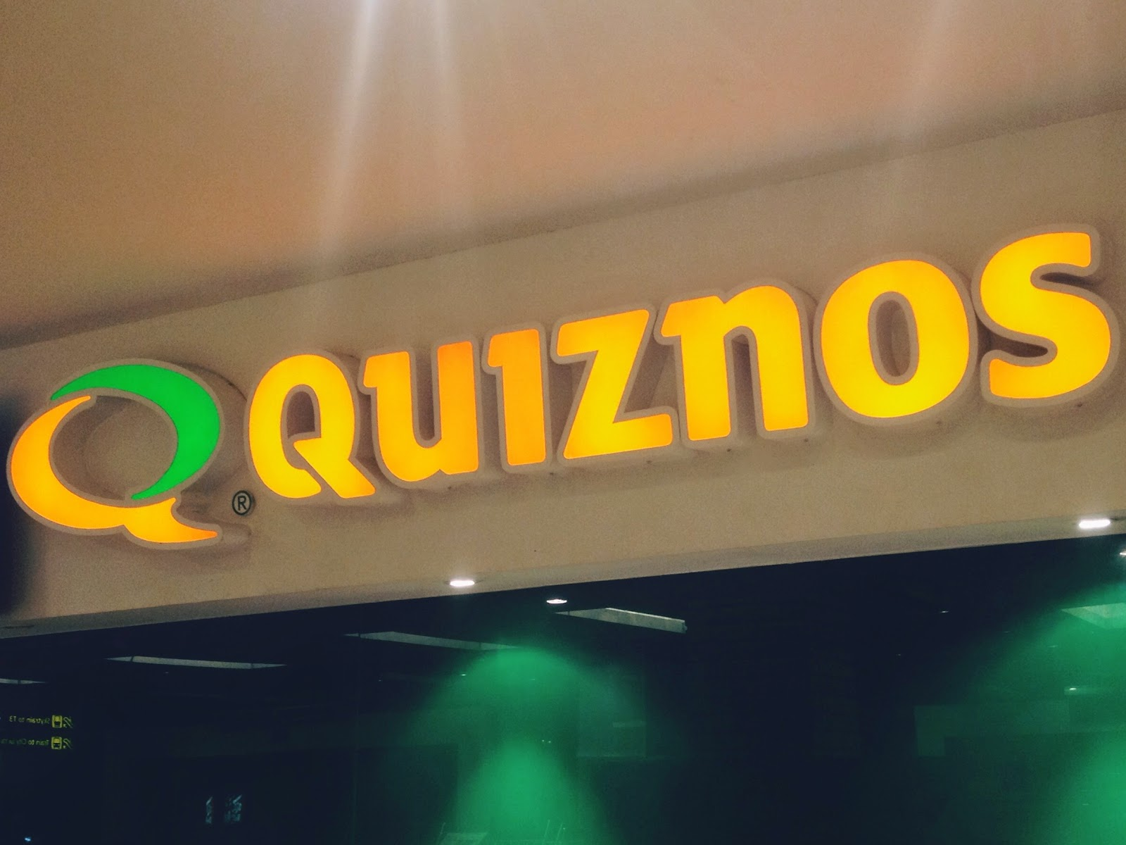 Quiznos @ Changi Airport, Singapore