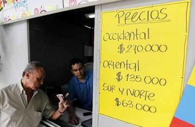 ¿Que tan costoso es ir a fútbol en Colombia?