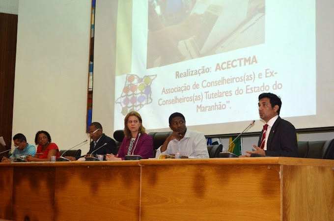 Wellington do Curso participa de Seminário de Conselheiros Tutelares do Maranhão