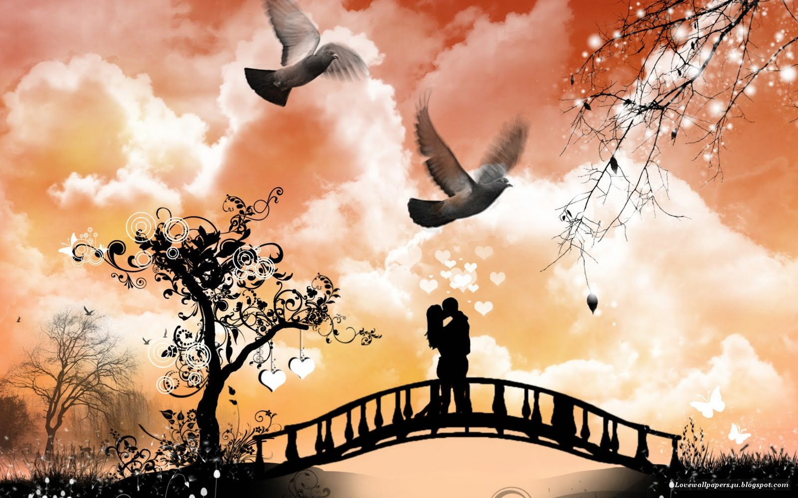 Desktop Wallpaper Romantic Love : Wallpapers - HD Desktop Wallpapers Free Online: Love Wallpapers