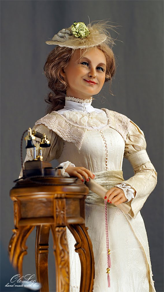 Портретная кукла Наталья