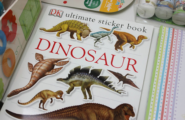 A picture of Dinosaur Ultimate Sticker Book