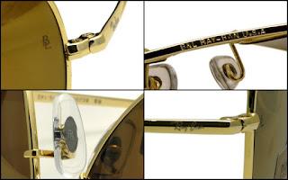 e659ecb0625 Ray Ban - Diamond Hard Gold Frame
