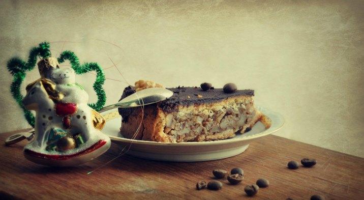 Венский карамельно-ореховый пирог