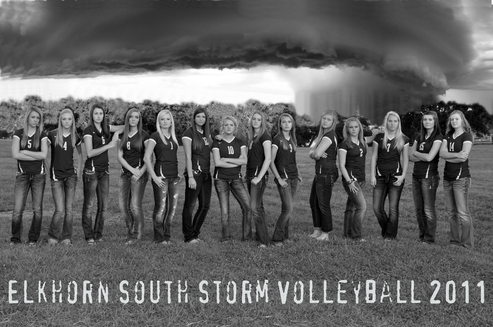Storm Team 8 : You go girl state volleyball
