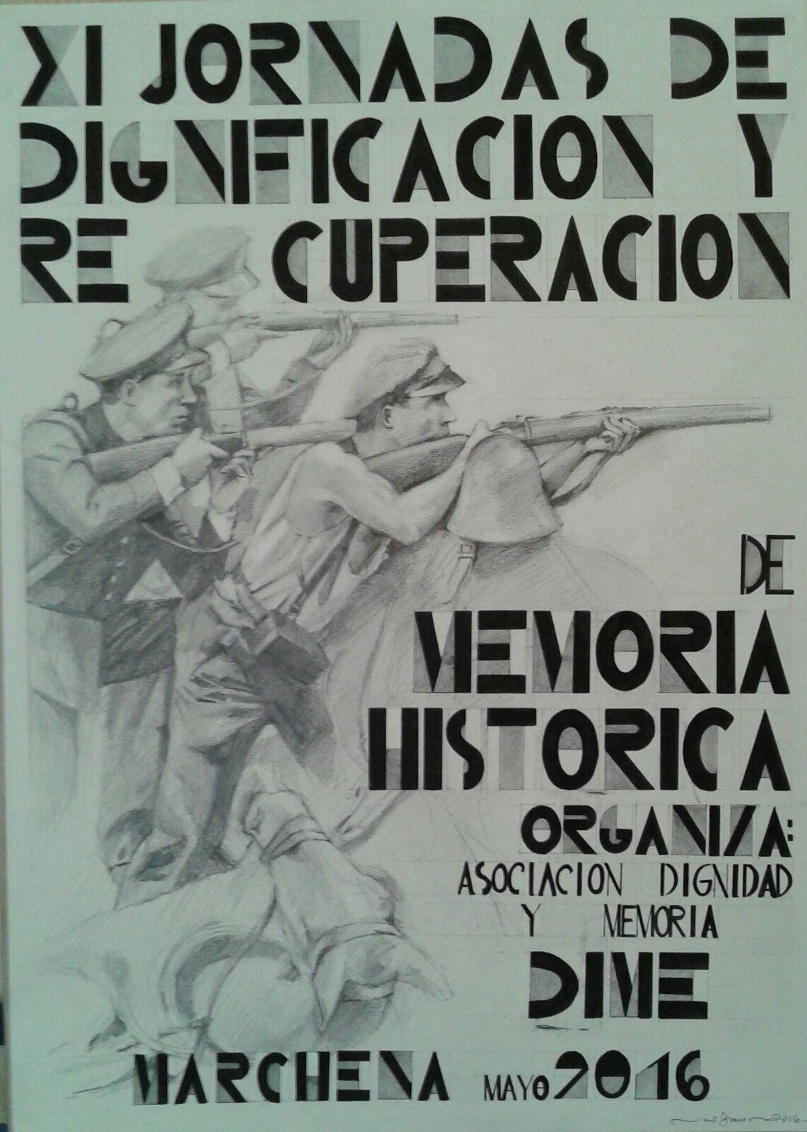 XI JORNADAS DE DIGNIFICACIÓN Y RECUPERACIÓN DE MEMORIA HISTÓRICA.  DIME. MARCHENA
