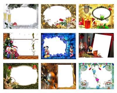 10 marcos de navidad y año nuevo
