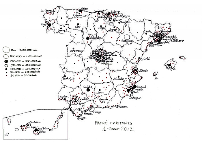 ESPANYA PADRÓ 2012