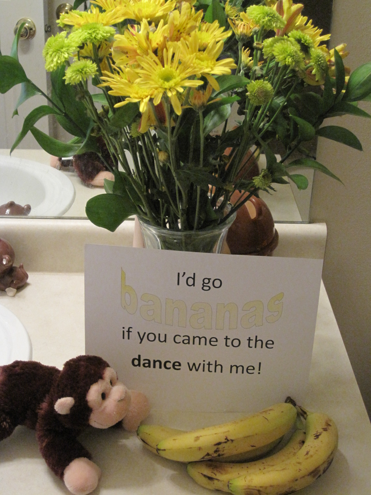 how to ask a girl out with flowers