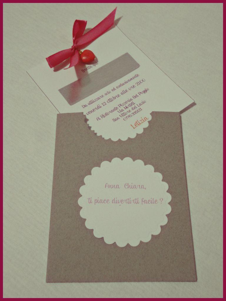 Préférence Il laboratorio creativo di Ciccia : Gratta e..inviti !!! GT21