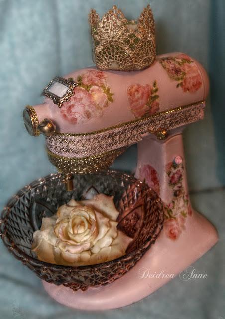 Suzy Homefaker Holiday Baking Pink Kitchenaid Mixer