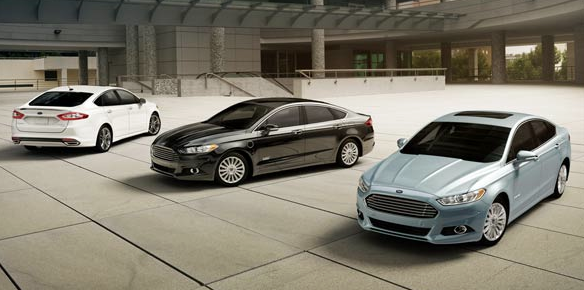 2014 Ford Fusion lineup
