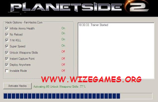 Planetside 2 Cheats Codes Engine Cash Generator SUPER Hack ESP Aimbot
