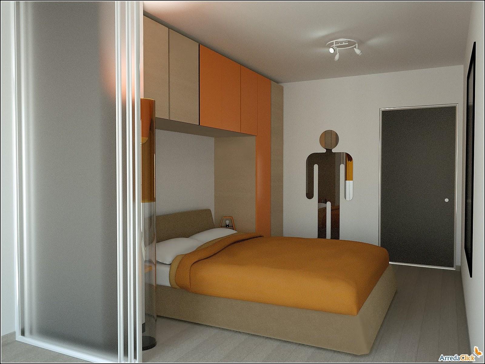 Arredaclick muebles italianos online amueblar - Amueblar dormitorio pequeno ...