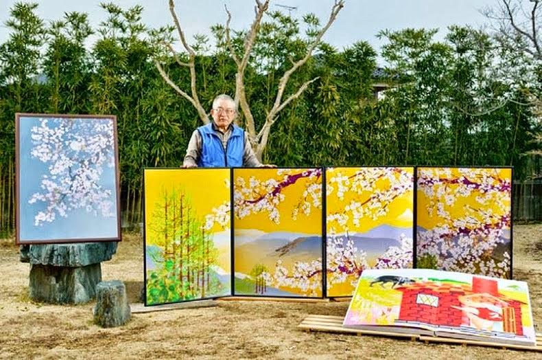 seniman jepang tatsuo horiuchi