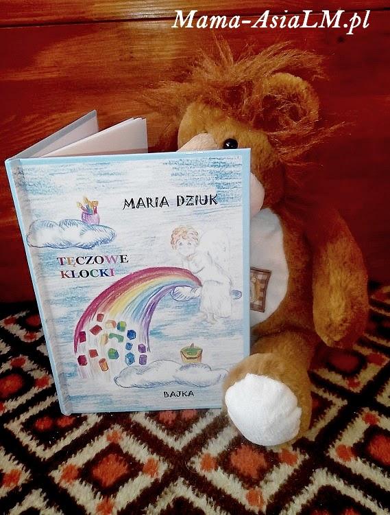 tęczowe klocki - książka, bajka, wierszyk dla dzieci.
