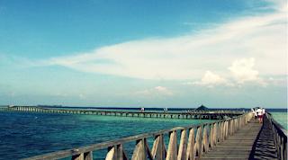 Foto Jembatan Pulau Tidung.
