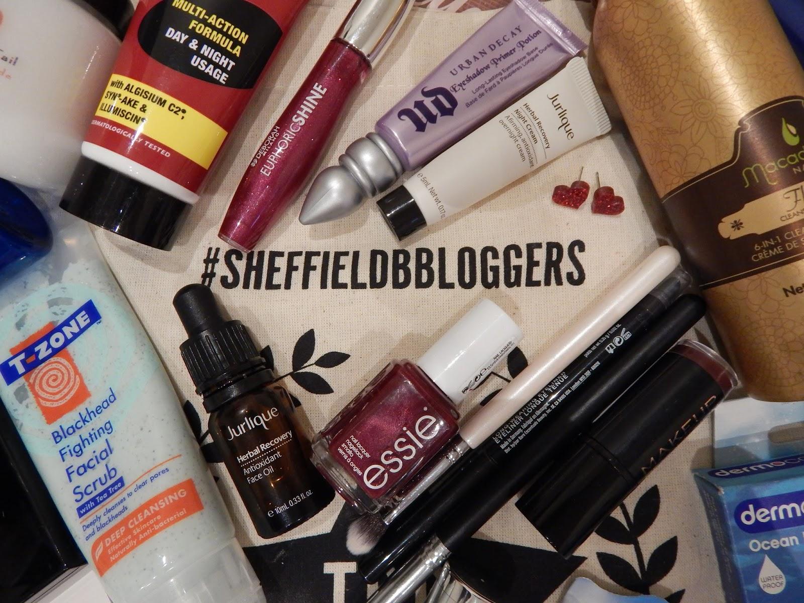 #SheffieldBBloggers Goodie Bag & Raffle Prizes, Sheffield bloggers