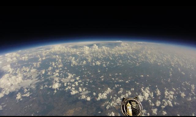 GoPro merekam luar angkasa