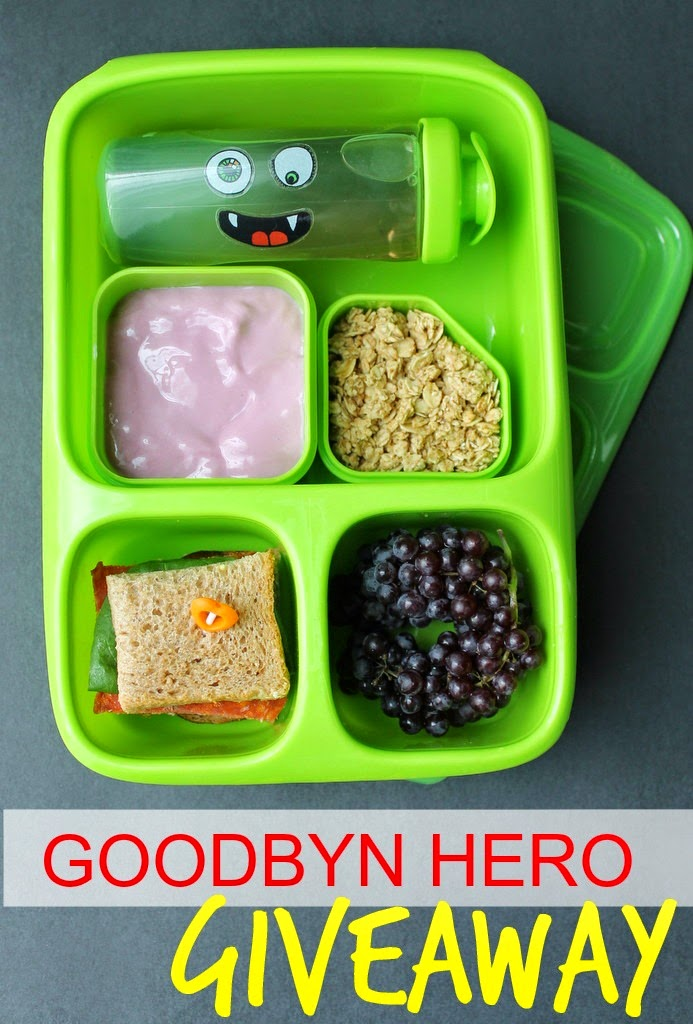 Goodbyn Hero Review + Giveaway - mamabelly.com