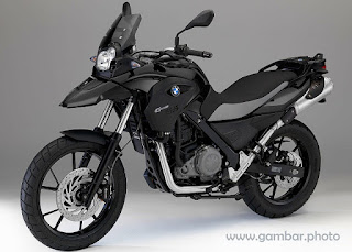 BMW G650GS motorcycle