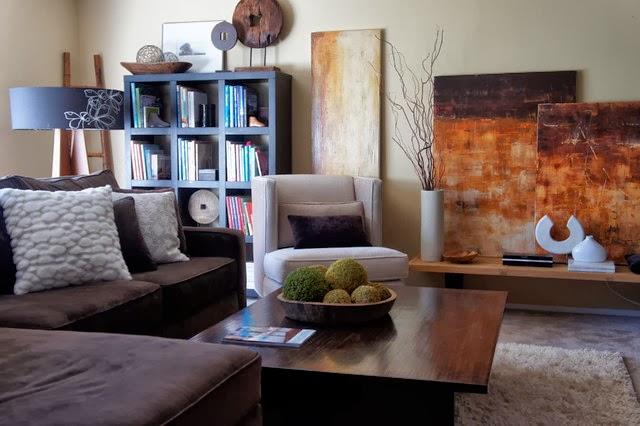 Salas peque as muy lindas colores en casa for Salas muy pequenas